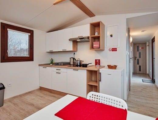 Kuchynské linky v mobilných domoch Flexidom.eu